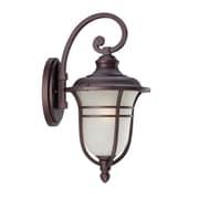 Acclaim Lighting Montclair 1 Light Wall Lantern; Architectural Bronze