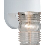 Progress Lighting 1 Light Wall Lantern; White