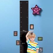 Wallies Growth Chart Chalkboard Wall Decal