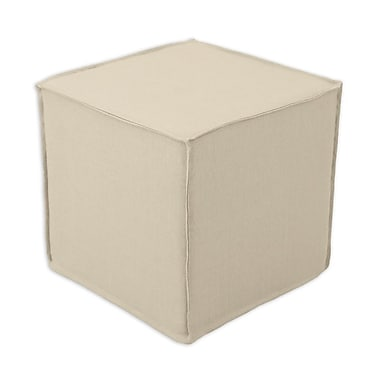 Brite Ideas Living Seamed Cube Ottoman Navy Price Tracking