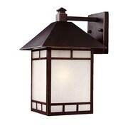 Acclaim Lighting Artisan 1 Light Wall Lantern; Architectural Bronze