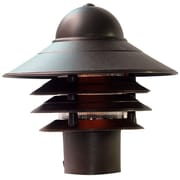 Acclaim Lighting Mariner 1 Light Outdoor Post Light; Architectural Bronze