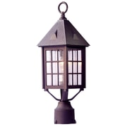 Acclaim Lighting Outer Banks 1 Light Outdoor Post Light; Architectural Bronze