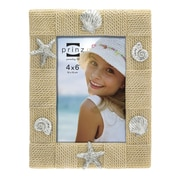 Prinz Delray Rope Resin Shell Picture Frame; Natural
