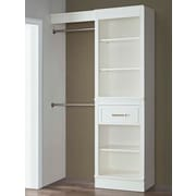 French Heritage 16'' Deep Wood Closet System; 48''