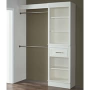 French Heritage 16'' Deep Wood Closet System; 84'' H x 60'' W x 16'' D