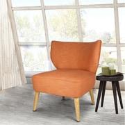AdecoTrading Leisure Slipper Chair; Orange