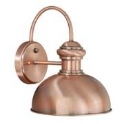 Vaxcel Franklin 1 Light Outdoor Barn Light; Copper