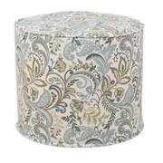 Brite Ideas Living Findlay High Corded Foam Ottoman; Seaglass