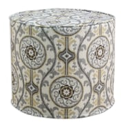 Brite Ideas Living Oh Suzani Metal High Corded Foam Ottoman