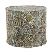 Brite Ideas Living Paisley High Corded Foam Ottoman