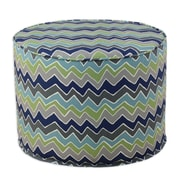 Brite Ideas Living See Saw Felix Round Corded Foam Ottoman