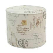 Brite Ideas Living Postale High Corded Foam Ottoman
