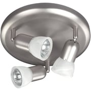 Canarm James 3 Light Wall Fixture / Flush Mount; Brushed Pewter
