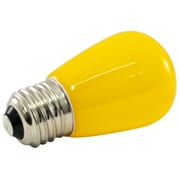 American Lighting LLC 1.4W Yellow Frosted 120-Volt LED Light Bulb (Set of 25)