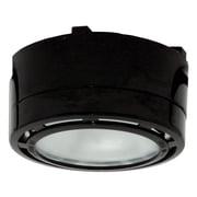 American Lighting LLC Xenon Under Cabinet Puck Light; Black
