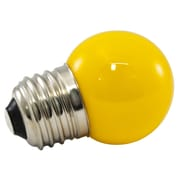 American Lighting LLC Yellow Frosted 120-Volt LED Light Bulb (Set of 25); 1.2