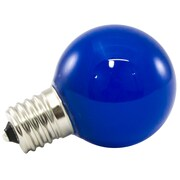 American Lighting LLC Blue Frosted 120-Volt LED Light Bulb (Set of 25); 1