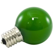 American Lighting LLC Green Frosted 120-Volt LED Light Bulb (Set of 25); 1