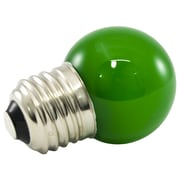 American Lighting LLC Green Frosted 120-Volt LED Light Bulb (Set of 25); 1.2