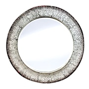 eUnique New Dimensions Entwined Round Mirror