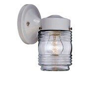 Acclaim Lighting Builder's Choice 1 Light Wall Lantern; White