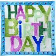 LS Arts, Inc. Happy Birthday Platter