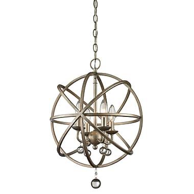 Z-Lite – Luminaire suspendu Acadia 415-16, 4 ampoules