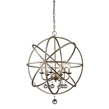 Z-Lite – Luminaire suspendu Acadia 415-24, 6 ampoules