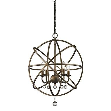 Z-Lite – Luminaire suspendu Acadia 416-20, 5 ampoules