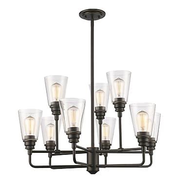 Z-Lite – Lustre Annora 428-9-OB, 9 ampoules, transparent