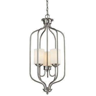Z-Lite – Luminaire suspendu Cardinal 434-31-BN, 3 amp., opale mate