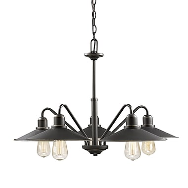 Z-Lite – Lustre Casa 613-5-OB, 5 ampoules, bronze antique