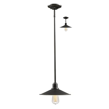Z-Lite – Petit luminaire suspendu Casa 613MP-OB, 1 ampoule, bronze antique