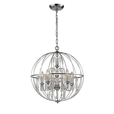 Z-Lite – Luminaire suspendu Laia 897CH, 5 ampoules