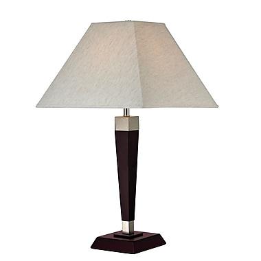Z-Lite TL112 Table Lamp, 1 Bulb, Flax