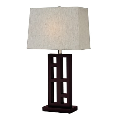 Z-Lite TL114 Table Lamp, 1 Bulb, Flax