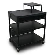 Marvel Office Furniture Vizion Adjustable Electrical Cart