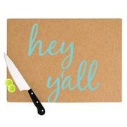KESS InHouse Hey Y'all 8.25'' Cutting Board