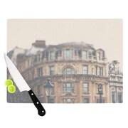 KESS InHouse London Town by Laura Evans Cutting Board; 11.5 '' H x 15.75'' W x 0.5'' D