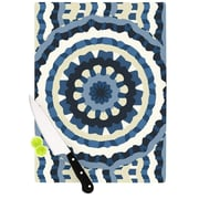 KESS InHouse Ribbon Mandala by Laura Nicholson Cutting Board; 11.5 '' H x 15.75'' W x 0.5'' D