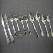 Linen Depot Direct 50 Piece Flatware Set