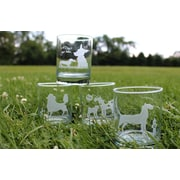 Rolf Glass 4 Piece Kennel Club Double Old Fashioned Set