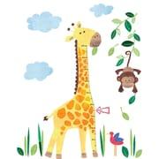 JoJo Maman B b  Giraffe Height Growth Chart Wall Decal