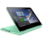 "Refurbished HP 11-k122ds x360 11.6"" IPS Intel Pentium N3700 500GB 4GB Microsoft Windows 10 Home Laptop Green"