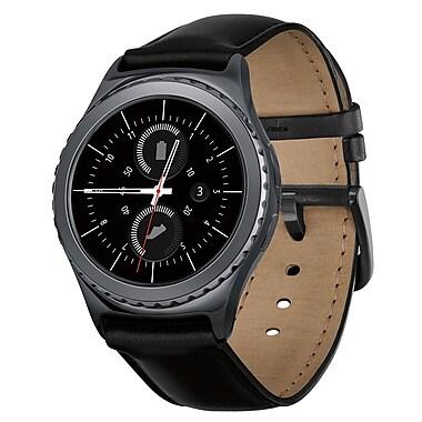 Samsung Gear S2 (SM-R7320ZKAXAC) Smartwatch, Classic Black