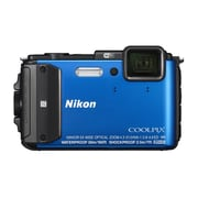 "Nikon COOLPIX AW130 Digital Cameras, 16.0MP, 5x Optical Zoom, 3"" OLED LCD Screen"