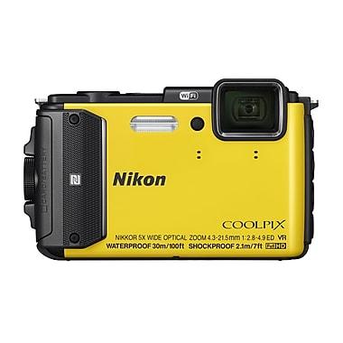 Nikon COOLPIX AW130 Digital Camera, 16.0MP, 5x Optical Zoom, 3