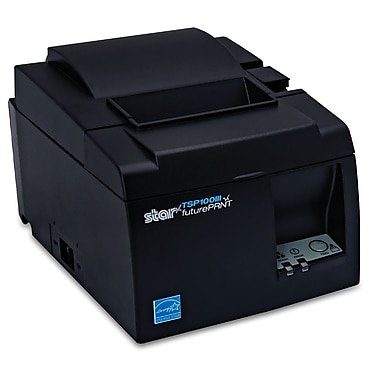 Star Micronics TSP143IIIW, Thermal, Auto-cutter, WLAN (Wi-Fi), Grey, WPS easy connection, Internal UPS