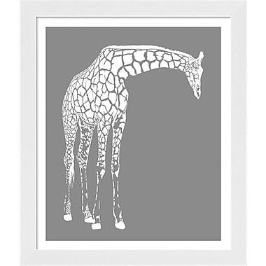 Evive Designs Giraffe Framed Art